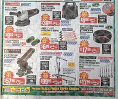 Harbor Freight Black Friday 2017 Ads and Deals Harbor Frieght offers affordable tools of all kinds, including power tools, air tools and hand tools. During Harbor Freight Black Friday 2017 Sale, sh. Harbor Freight Tools, Black Friday Ads, Air Tools, Power Tools, Coupons, Electrical Tools, Coupon