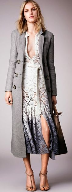 Burberry Resort 2015 Collection love this coat