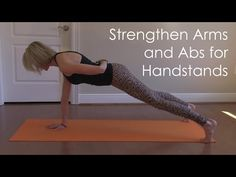 Build Upper Body Strength for Handstands