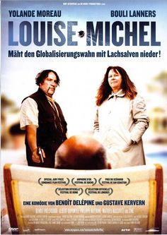LOUISE MICHEL - 2008 - YOLANDE MOREAU - BOULI LANNERS - FILMPOSTER A4
