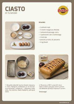 Ciasto ze śliwkami  #bielmar #śliwki #ciasto #przepis #lato #prostyprzepis #owoce