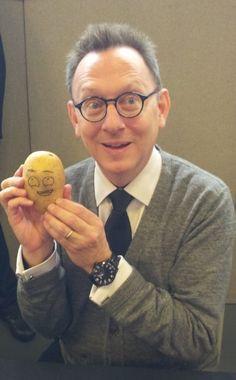 Lol Michael and Mr. Potato :D