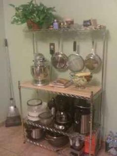 A baker's rack is great in a commercial kitchen or at home, and it gives you a way to effectively use space. A good one will offer a place to...