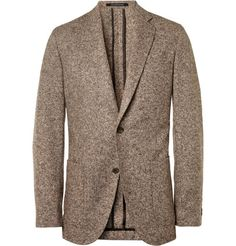 Richard James Slim-Fit Wool and Silk-Blend Blazer   MR PORTER