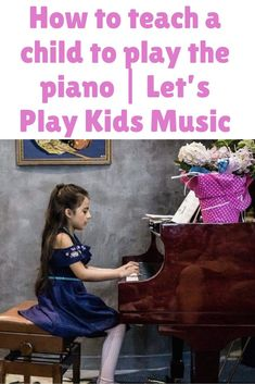 Have you fixed your mind about teaching your child to play the piano? And are you wondering How to teach a child to play the piano ? Piano Songs For Beginners, Piano Lessons For Kids, Best Piano, Piano Keys, The Black Keys, Memory Games, Music For Kids, Lets Play, Print Pictures