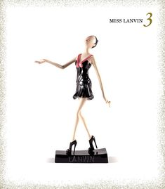 If a Barbie was your favorite childhood memory, these miss lanvin dolls will knock your socks off! A great way to upgrade those childhood memories. Barbie, Lanvin, Fashion Dolls, Love Fashion, Nice Dresses, Ballet Skirt, Fancy, Childhood Memories, Fashion Illustrations