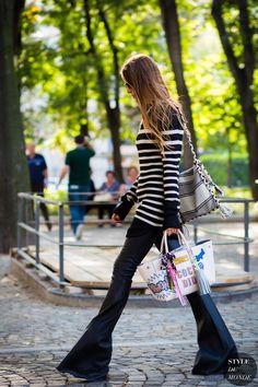 Milan Fashion Week SS 2016 Street Style: Carlotta Oddi