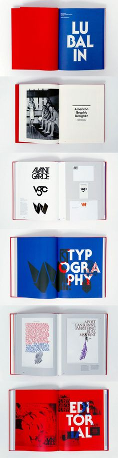 Herb Lubalin - Examples of colourful Avante Garde pieces on print. I really like the bold background colours used to help bring the text to the forefront.
