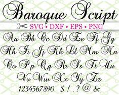 BAROQUE SCRIPT SVG FONT Tattoo Lettering Fonts, Hand Lettering Alphabet, Doodle Lettering, Creative Lettering, Graffiti Lettering, Lettering Styles, Lettering Design, Font Styles, Fancy Fonts Alphabet
