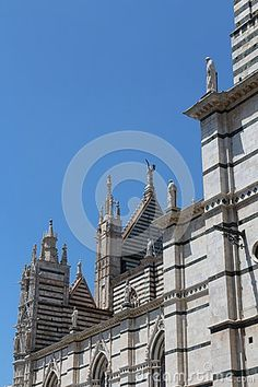 Original photo from the medieval city of siena, italy
