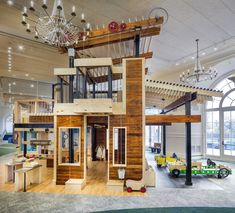 Project: Children's Museum of Cleveland Firm: Richardson Design