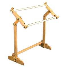 American Legacy Scroll Frame and Oak Floor Stand Quilting Frames, Quilting Tips, Tambour, Creative Crafts, Arts And Crafts, Flooring, American, Needlework, Cross Stitch