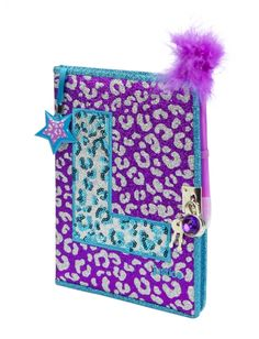 Justice is your one-stop-shop for on-trend styles in tween girls clothing & accessories. Shop our OLD Initial Cheetah Diary. Justice Toys, Shop Justice, Justice Clothing, Justice Stuff, Justice School Supplies, Cute School Supplies, Cute Notebooks, Journals, Girls Secrets