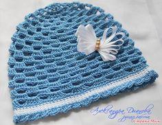 Sombreros de verano para los bebés.