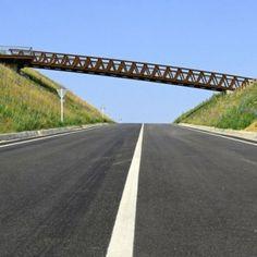 Sant Pere Sacarrera Footbridge made  from Corten steel by Alfa Polaris