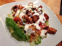 Middagstips: Frisk kyllingsalat med couscous! (Rusa på livet!!!)