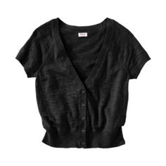 Worn just a handful of times. In great condition! My price is firm and please no trades! Mossimo Supply Co. Short Sleeve Cardigan, Black Cardigan, Sweaters For Women, Clothes For Women, Shorts, My Style, Fashion Styles, Cardigans, Things To Sell