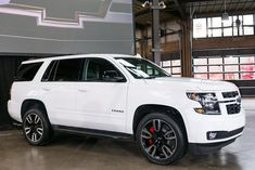 There are new limited-edition Chevy Tahoe and Suburban RST models in town and their exclusive features are amazing! #Chevy #Tahoe #Suburban #Chevrolet #Cars #Vehicles #Automotive