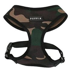 Camo harness for a cool pup