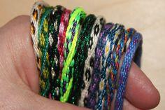 Tutorial - Kumihimo bracelets