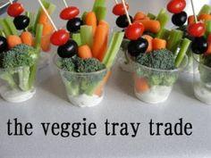 smarter veggie tray by kathie
