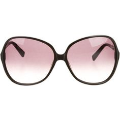 Pre-owned Oliver Peoples Oversize Sunglasses ($75) ❤ liked on Polyvore featuring accessories, eyewear, sunglasses, black, black sunglasses, black glasses, oversized eyewear, logo sunglasses и over sized sunglasses