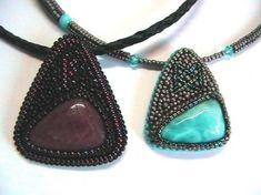 preview | Beadwork: pendants | Бисерные чудеса | Постила