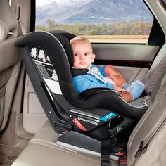 Peg Perego Primo Viaggio SIP Convertible Car Seat in Atmosphere....can rear face with tether