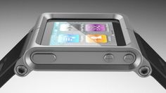 LunaTik Multi-Touch Watch Kit | It takes your iPod Nano and turns it into a full-color touchscreen wonder that's right at home wrapped around your wrist. Every piece of functionality that you can get out of your Nano, you can get from LunaTik.