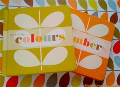 Make Every Day Count: Orla Kiely Baby Toddler Numbers and Colours Books. Orla Kiely, Little Ones, Coloring Books, Print Patterns, Pattern Design, Caravan, This Book, Stationery, Design Inspiration