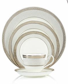 Buy Get 1 Free Place Setting - Macy's Clear Coffee Mugs, Pottery Patterns, Hearth And Home, Dish Sets, Noritake, China Patterns, Dinnerware Sets, Fine China, Place Settings