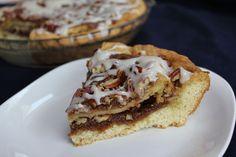 Sweet Potato Pie with a Cinnamon Roll Crust | Recipe | Cinnamon Roll ...