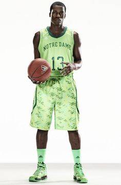 e97574349 The Notre Dame men s basketball team will make their first appearance in  these new adidas uniforms at the 2013 BIG EAST Conference Championship  March in New ...