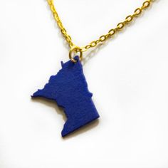 3D Printed Minnesota Pendant