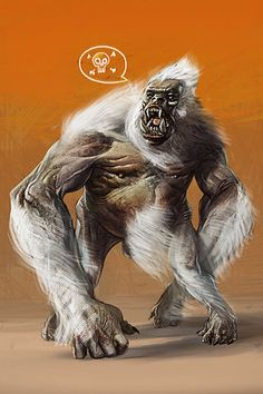 John Carter-white ape of mars by tooled - chase toole - CGHUB
