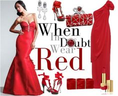 Love red.