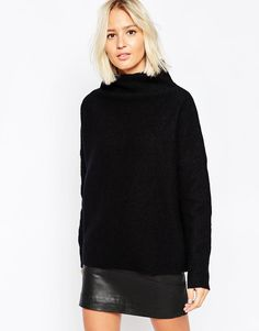 Cozy Sweaters For Fall at Every Price - Selected Astrid Highneck Sweater, $108; at ASOS