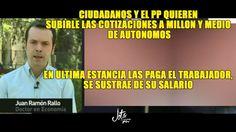 J.R.Rallo desmonta el acuerdo económico PP-Ciudadanos: La mochila austri...