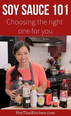Ever been intimidated by the hundreds of soy sauce options at the Asian grocery store? This video will demystify it all for you! #soysauce #asiancooking #asianfood Vietnamese Recipes, Asian Recipes, Thai Recipes, Asian Foods, Cambodian Recipes, Japanese Recipes, Chinese Recipes, Chinese Food, Dinner Recipes For Kids