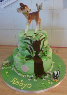 Bambi First Birthday Decorations