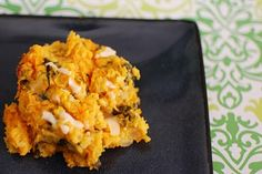 butternut squash and spinach casserole