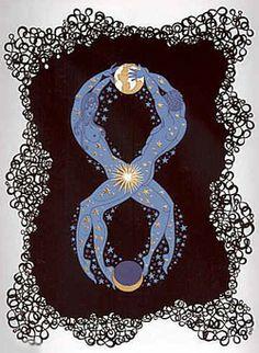 Erté's Numerals Series: EIGHT