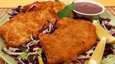 Pork Katsu - Best Recipes Ever (pork schnitzel using panko breadcrumbs) Pork Katsu Recipes, Pork Schnitzel, Best Food Ever, Food For A Crowd, Pork Ribs, Light Recipes, Lunch Recipes, Asian Recipes, Food Inspiration