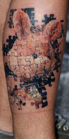 puzzle tatoo