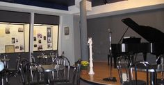 """The Bart Howard Room regularly provides public concerts and helps preserve the history of American cabaret music and Bart Howard (composer of """"Fly Me to the Moon"""")."""