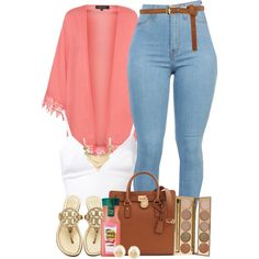A fashion look from July 2014 featuring Clover Canyon tops, Tory Burch flip flops and Michael Kors tote bags. Browse and shop related looks.
