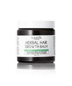 100% NATURAL, WILDCRAFTED AND ORGANIC Laila London Hair Growth Balm contains 33 herbs sourced from around the world.  Restore hair growth from the root to the tips.  Elongates curls for all hair types 4a-4b and 3a-3b.