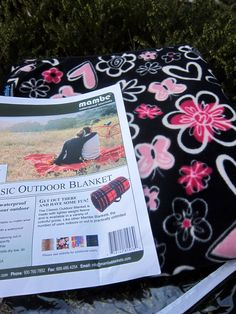 Mambe Blanket - Fleece Outdoor Blanket www.mambeblankets.com