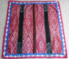 Peruvian Aguayo Table Cloth -  Andean Mountain Textile