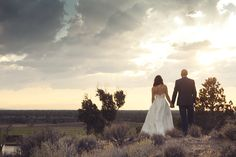 Bend Wedding and Elopement Photographer Kimberly Kay Photography {Leslie + Aaron} Wedding Brasada Ranch Powell Butte, OR Cascade Mountains, Local Photographers, Ranch, Scenery, Wedding Photography, Wedding Dresses, Guest Ranch, Bride Dresses, Bridal Gowns